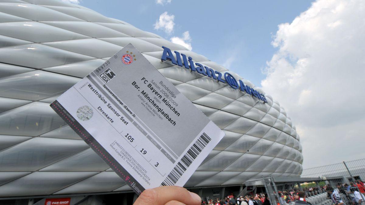Ticket für die Allianz Arena