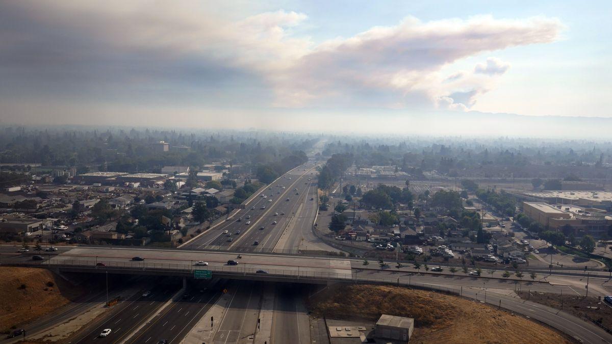 Luftaufnahme vom Silicon Valley