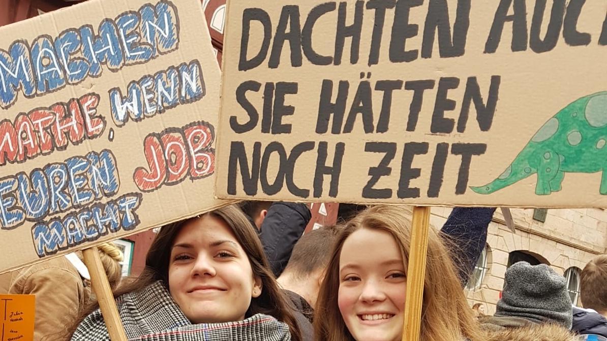 """Symbolbild: """"Fridays für Future""""-Demo in Bayern"""