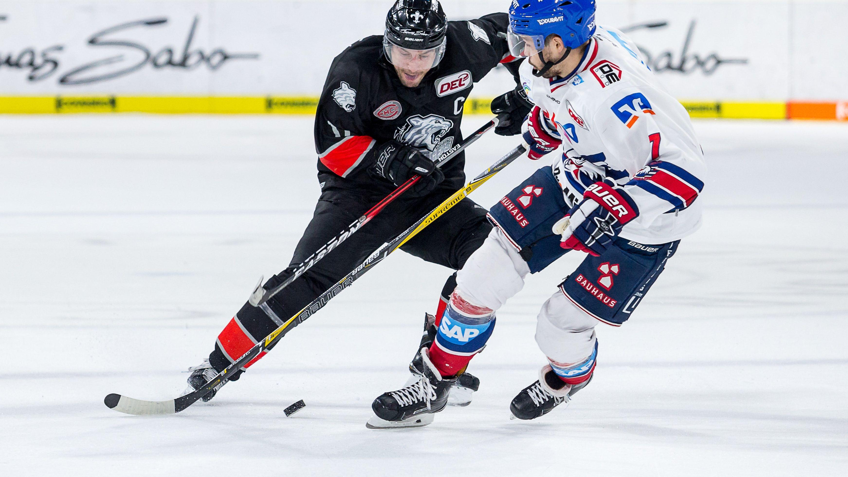 Ice Tigers Nuernberg vs. Adler Mannheim