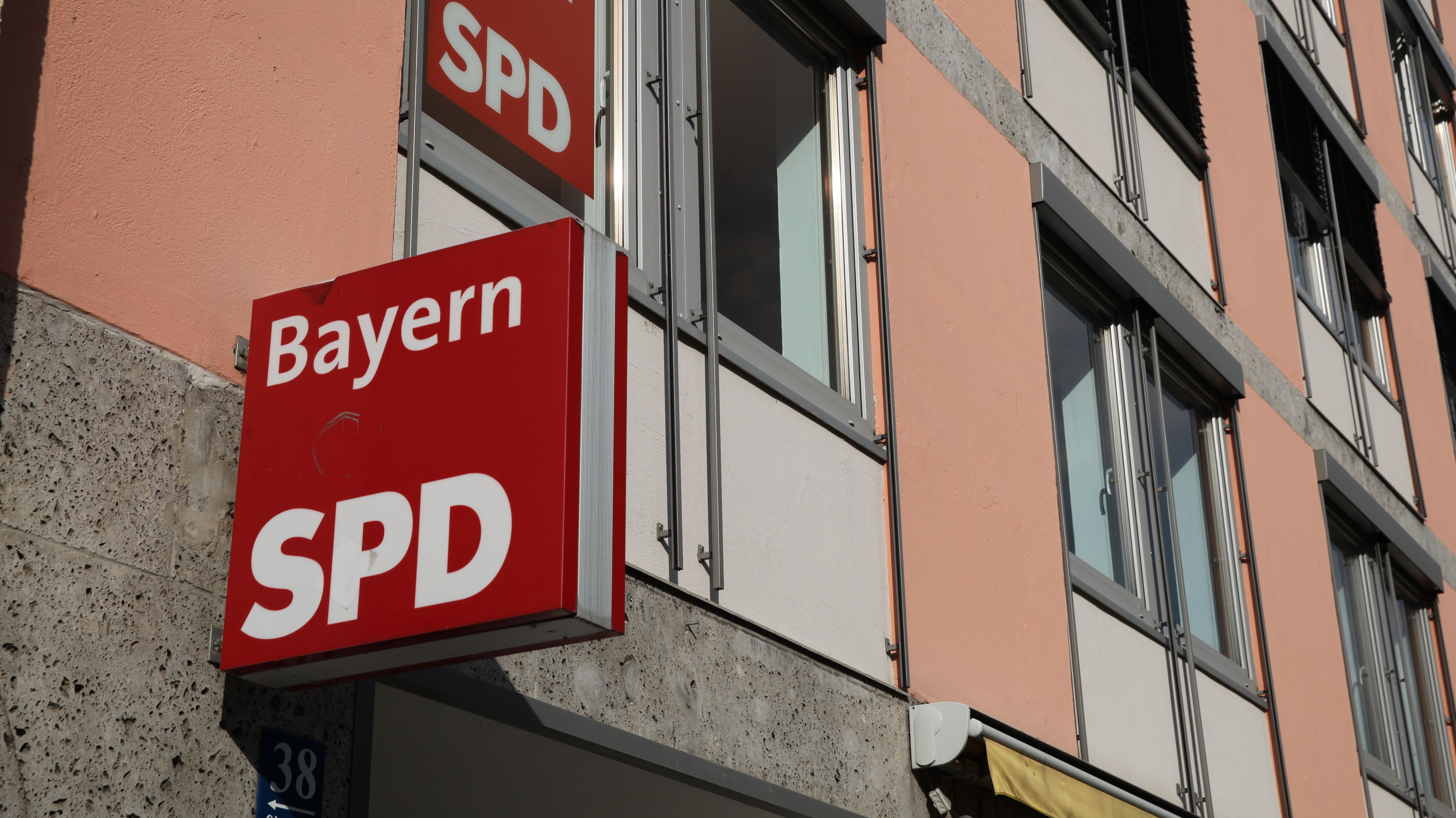Die SPD-Landesgeschäftsstelle in München