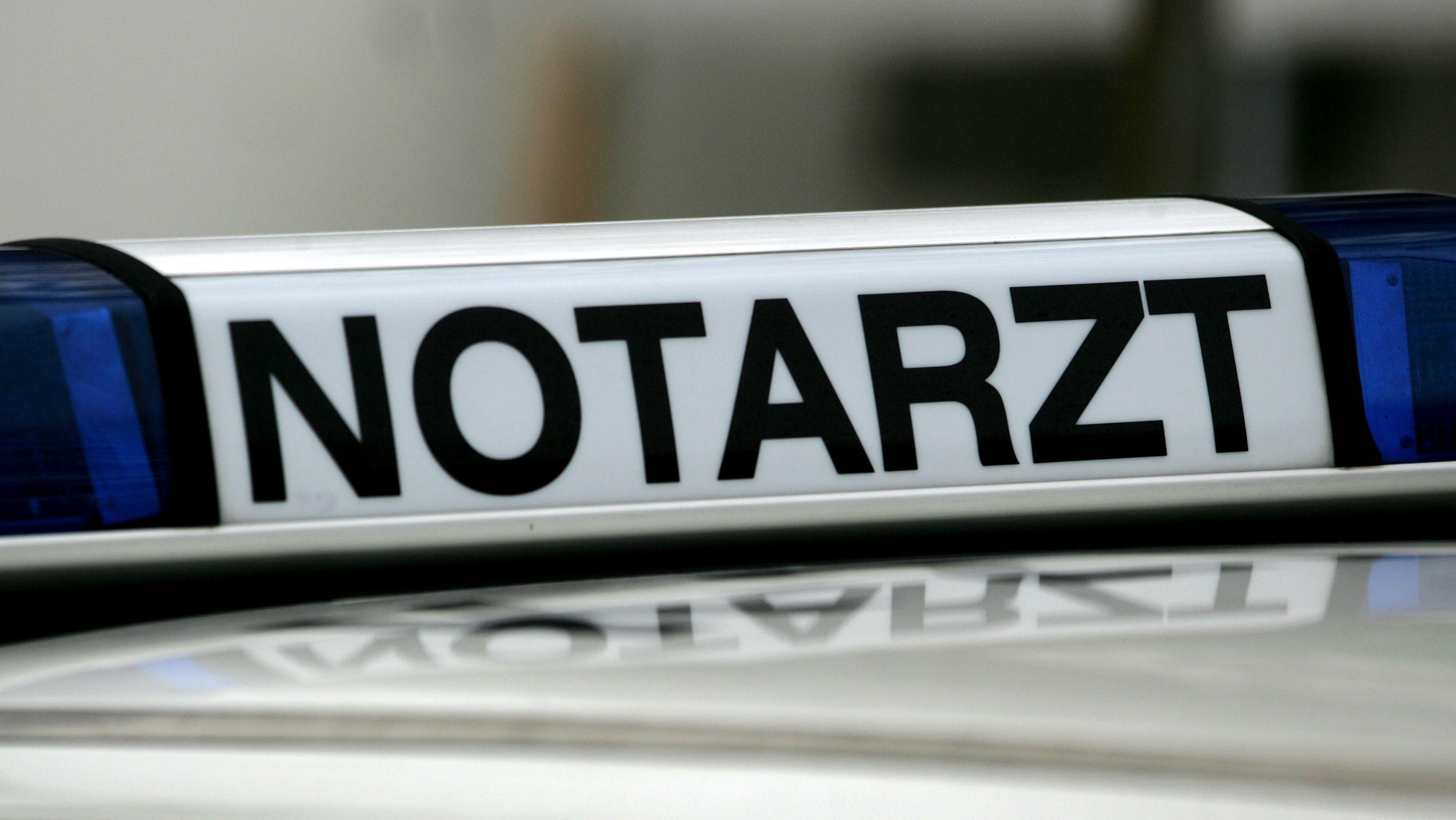Notarzt-Fahrzeug (Symbolbild)