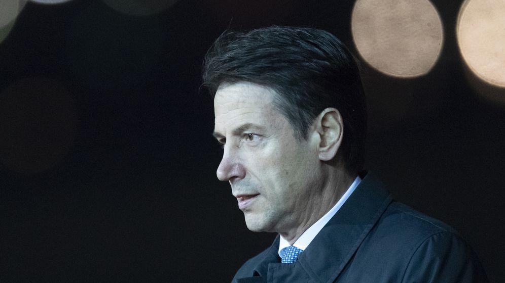 Italien: Regierungschef Conte will zurücktreten | Bild:pa/dpa/Pavel Golovkin