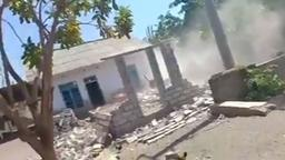 Zerstörungen nach Erdbeben auf Lombok | Bild:BR