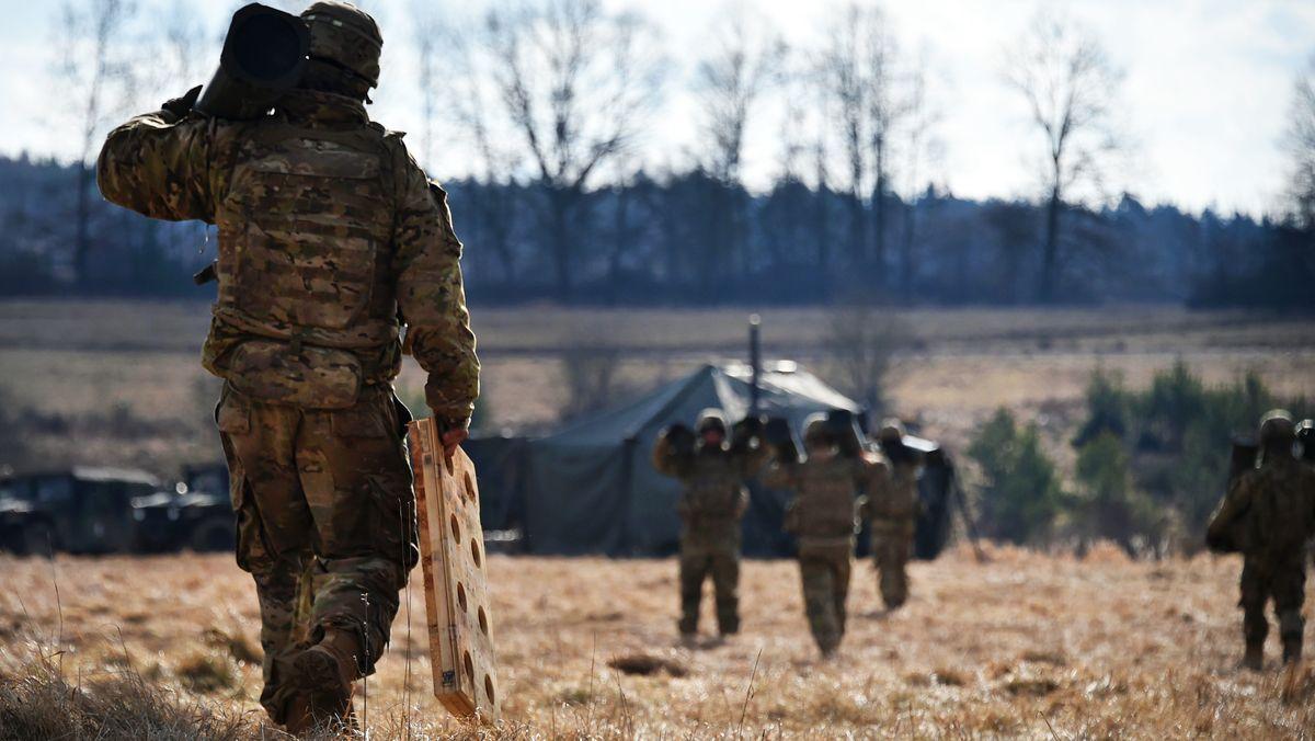Washington will knapp 12.000 US-Soldaten aus Deutschland abziehen.