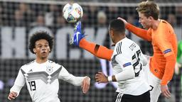 Szene aus der Partie Deutschland gegen Niederlande | Bild:dpa-Bildfunk/dpa-Bildfunk/Federico Gambarini