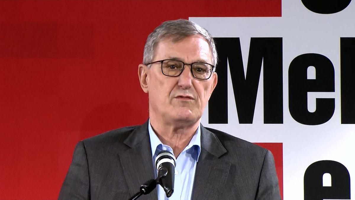 Bernd Riexinger will als Bundesvorsitzender der Partei Die Linke aufhören