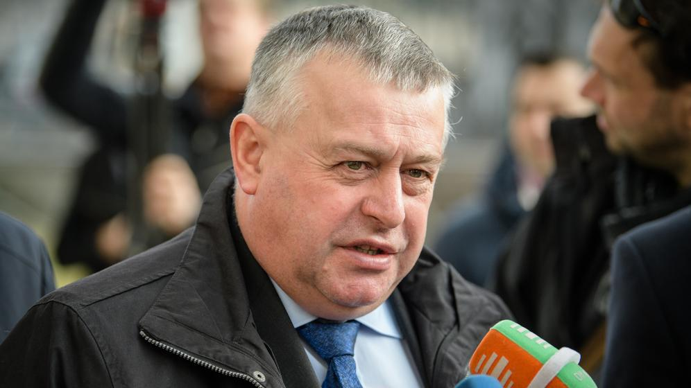 Walter Heidl, Präsident des Bayerischen Bauernverbandes | Bild:pa / dpa / Matthias Balk