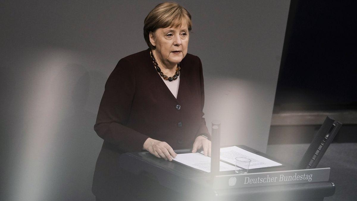 Merkel schwört Deutsche auf harten Corona-Winter ein