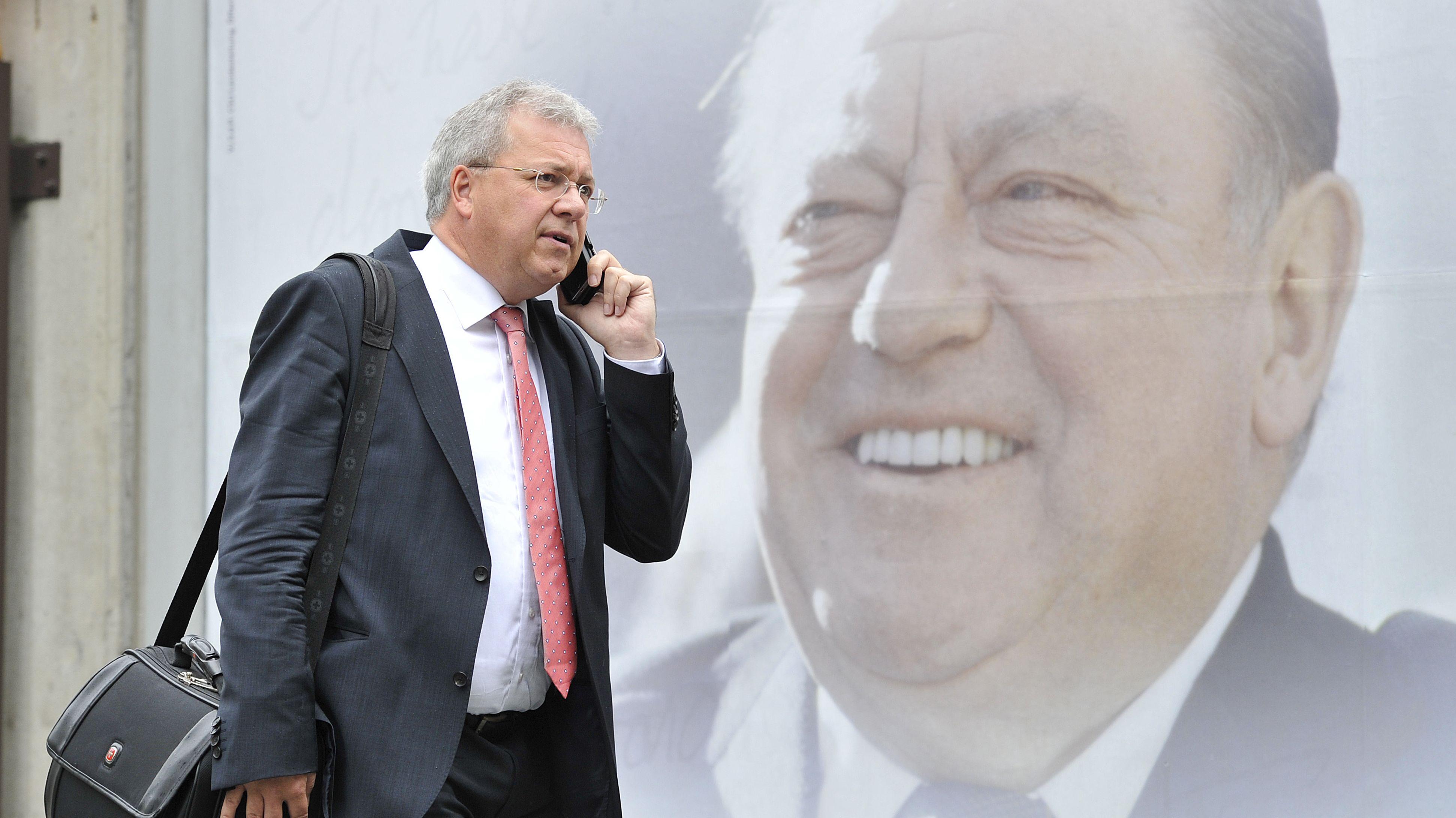 Archivbild: Der CSU-Europaabgeordnete Markus Ferber
