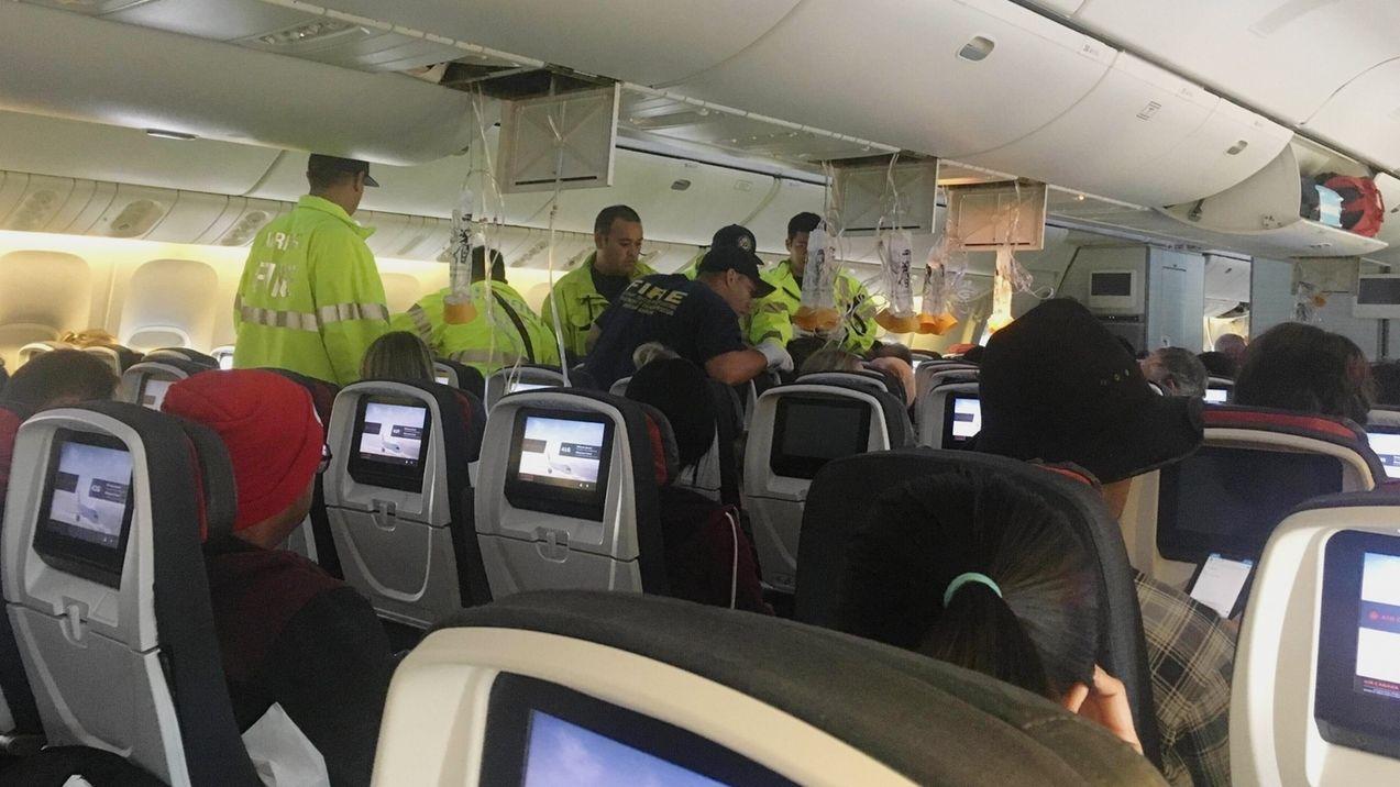 Turbulenzen auf Flug von Kanada nach Australien