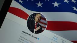 Donald Trump auf Twitter   Bild:PA
