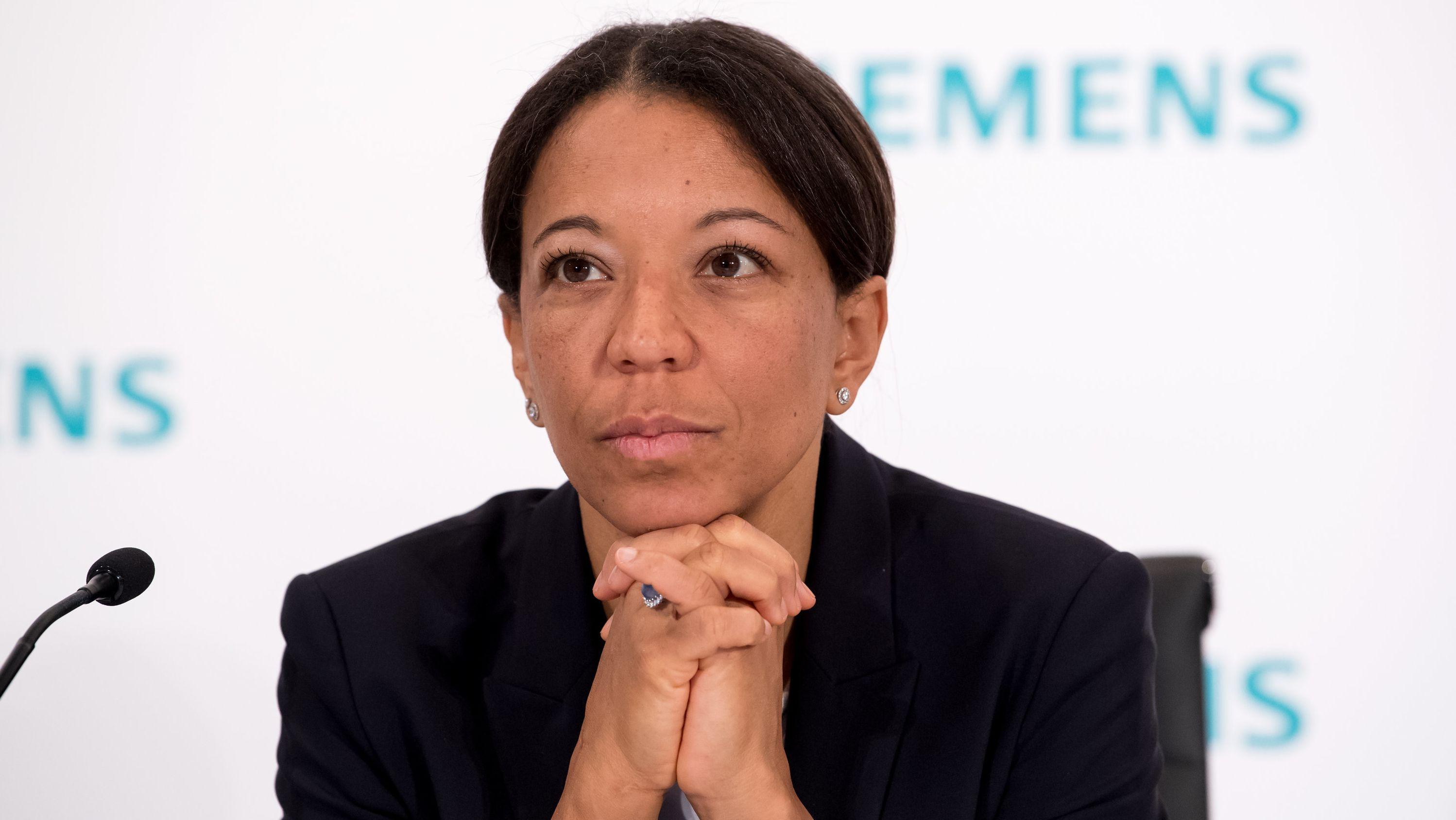 Janina Kugel, Vorstandsmitglied und Leiterin des Personalwesens der Siemens AG