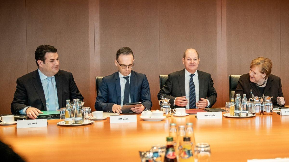 Kabinettssitzung zur Grundrente