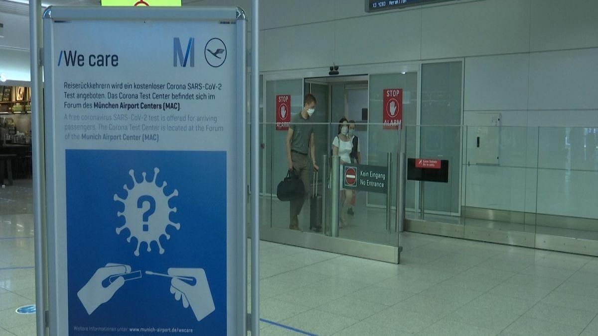 Viele Spanien-Touristen haben die Risikowarnung erst bekommen, als sie bereits am Urlaubsort waren. Die Rückkehrer sind weitgehend gelassen