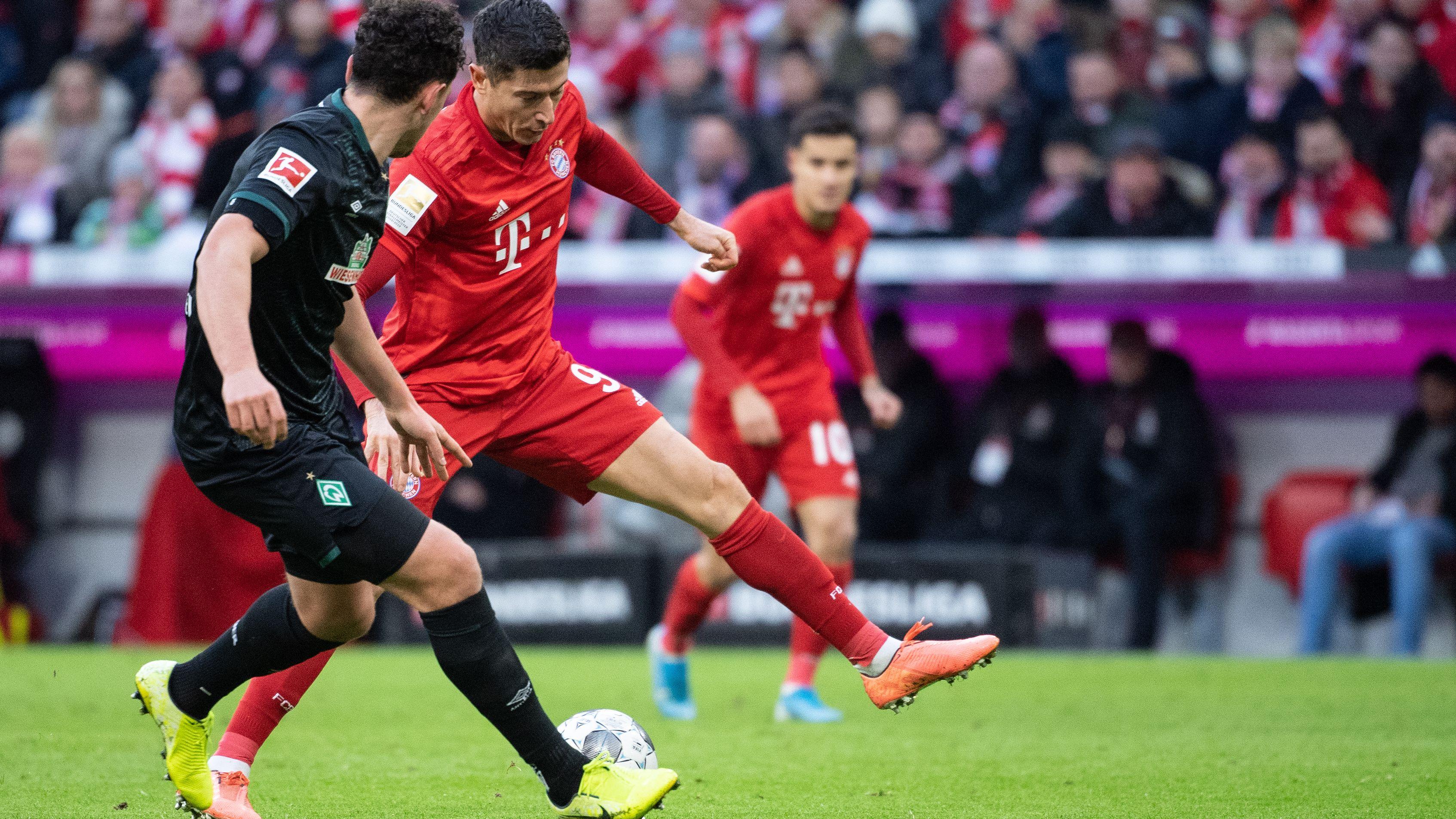 Stürmer Robert Lewandowski vom FC Bayern