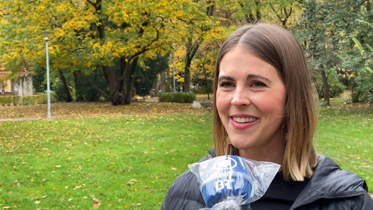 Die in München lebende US-Amerikanerin Joanna Kingt hat die Hoffnung, dass mit einem Präsidenten Joe Biden, dass Land nicht mehr so gepalten ist.