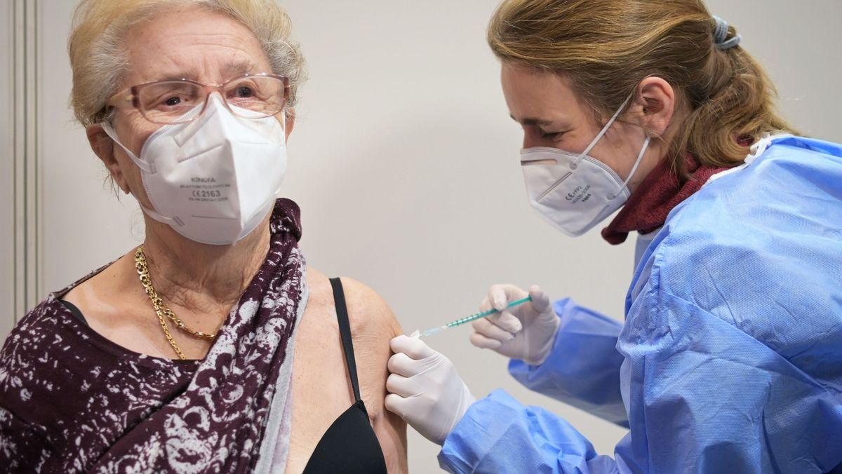 Impfung in Potsdam