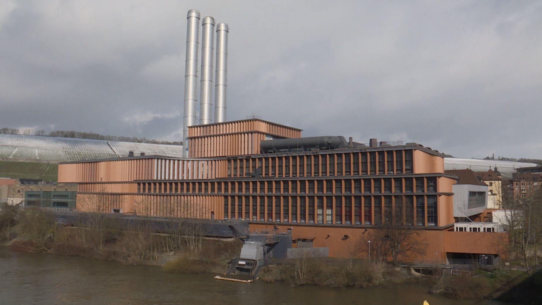 Das Würzburger Heizkraftwerk