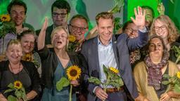 Landtagsabgeordnete der Grünen   Bild:pa/dpa/Armin Weigel