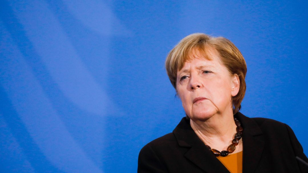 Bundeskanzlerin Angela Merkel, CDU.