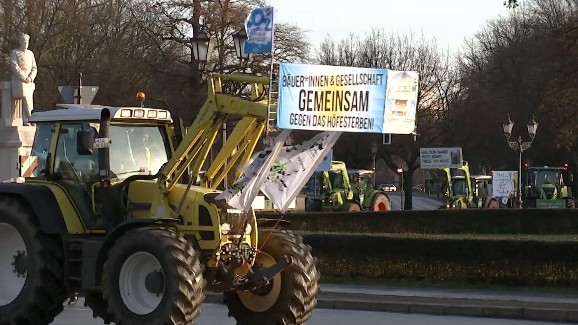 Traktoren in Berlin