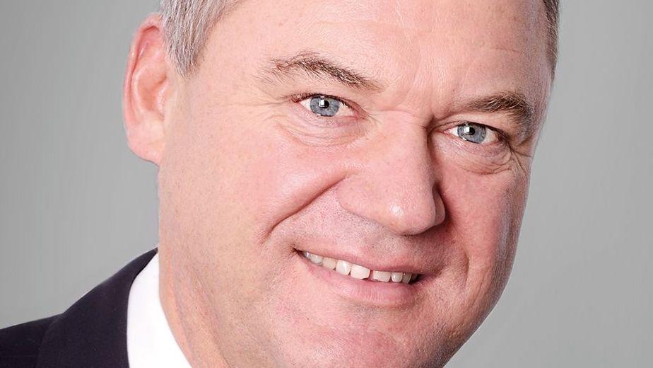 Der scheidende Bürgermeister Josef Pellkofer von der UWG.