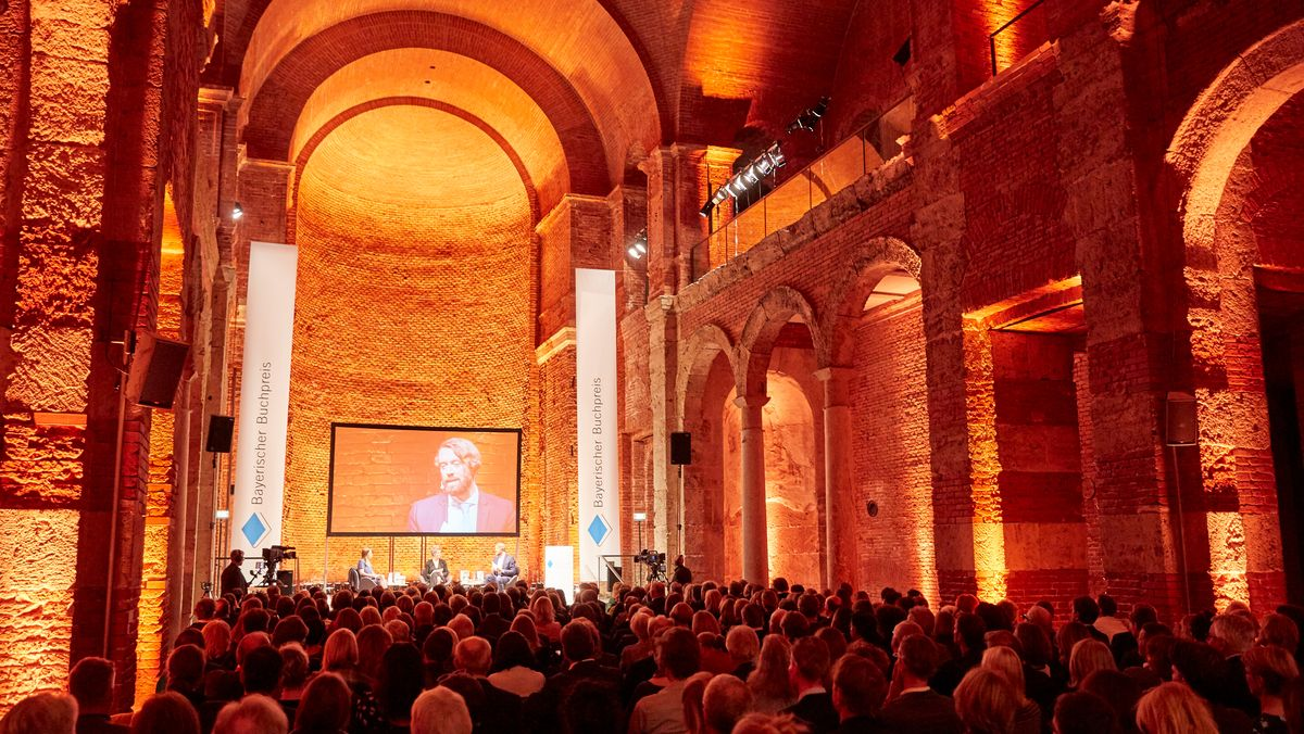Ein Blick in die Allerheiligen-Hofkirche der Münchner Residenz. Hier wird am 1. November 2021 der Bayerische Buchpreis vergeben.