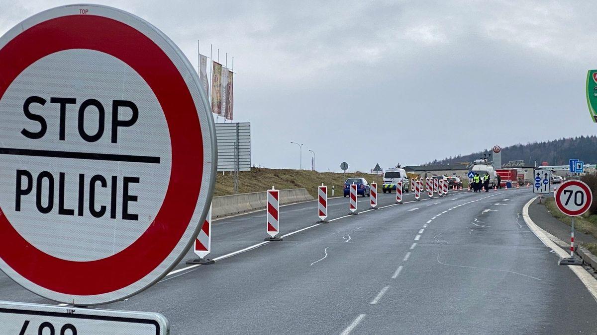 Bisher kam es nicht zu Verkehrsbehinderungen an der tschechischen Grenze.