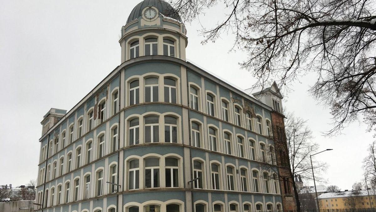 """Das """"Blaue Haus"""" in Hof"""