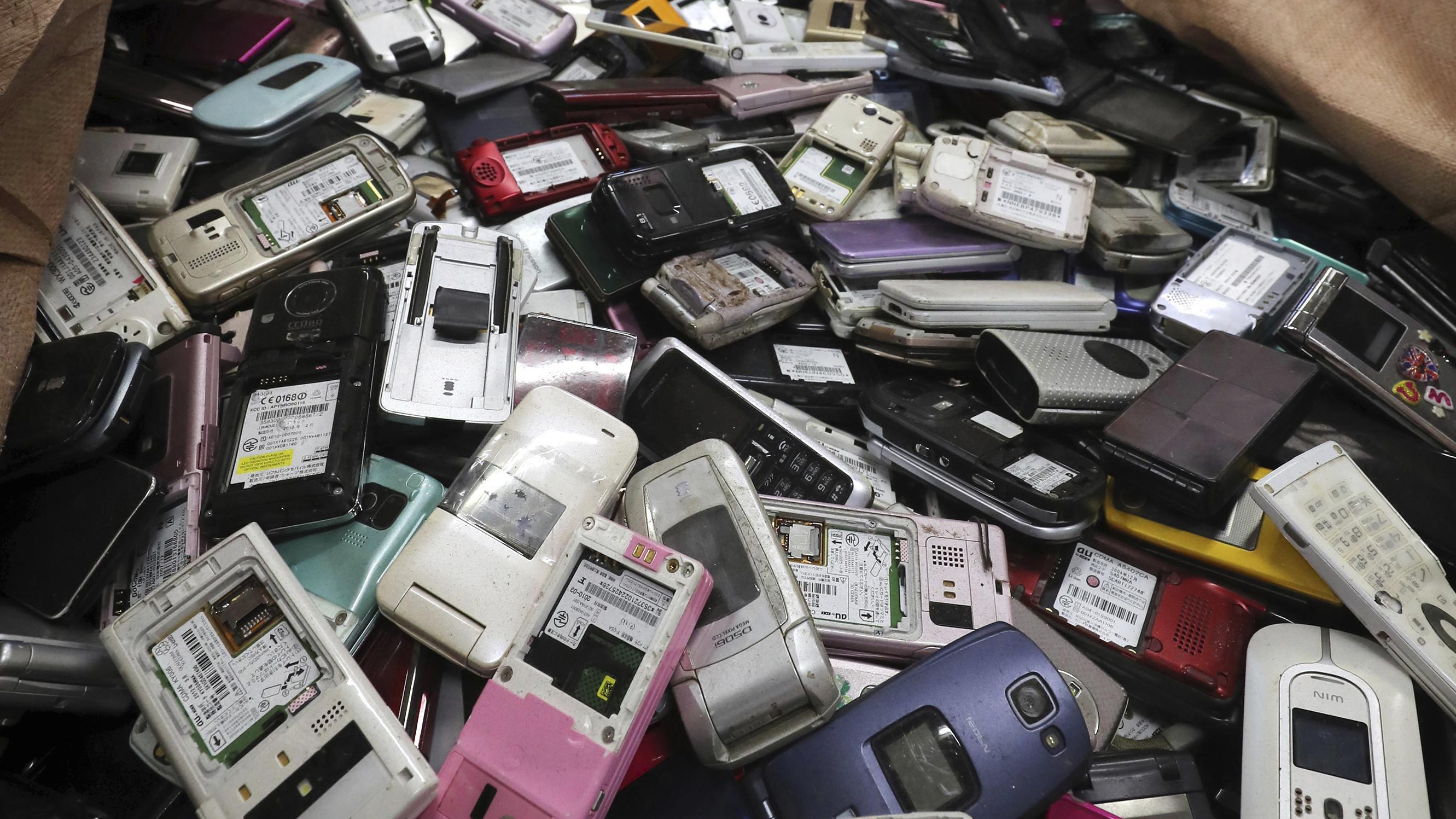 Alte Smartphones werden in Japan für Tokio 2020 gesammelt