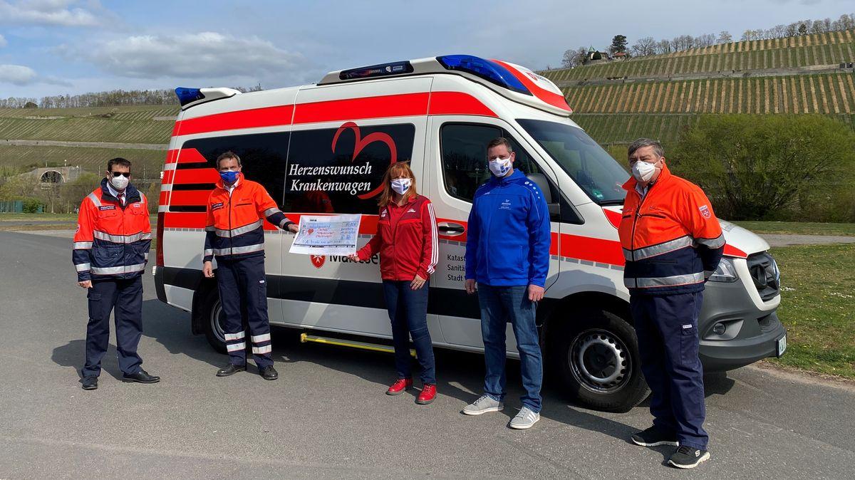 Herzenswunsch-Krankenwagen der Malteser in Würzburg
