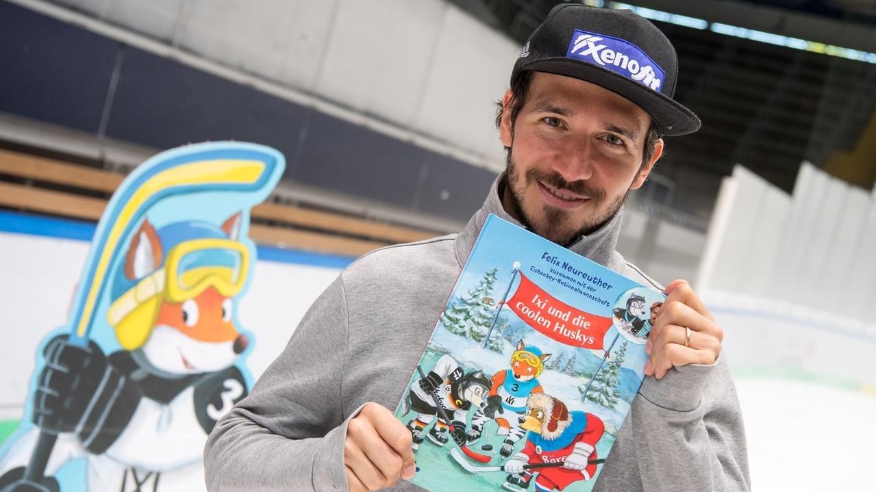 Skifahrer Neureuther stellt sein Kinderbuch vor