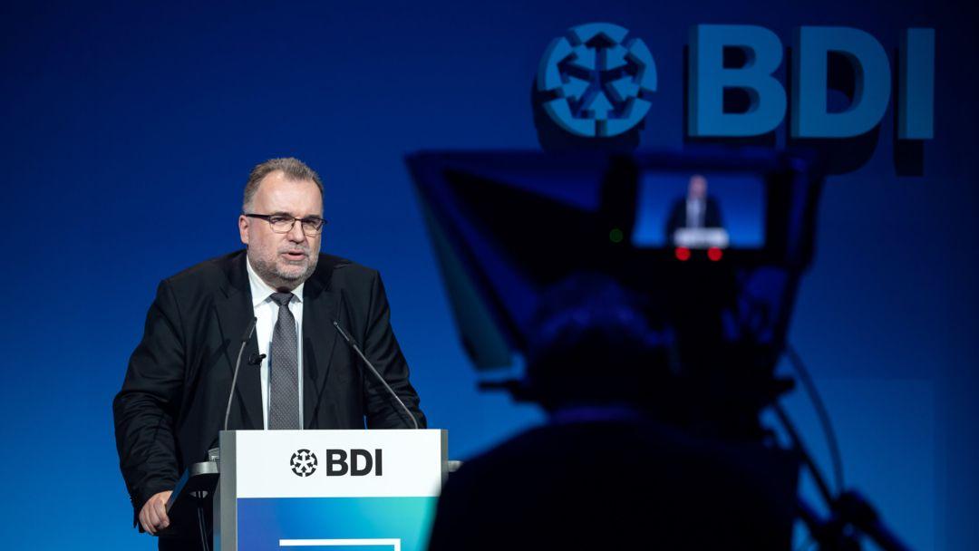 Siegfried Russwurm, Präsident des Bundesverbandes der Deutschen Industrie (BDI)