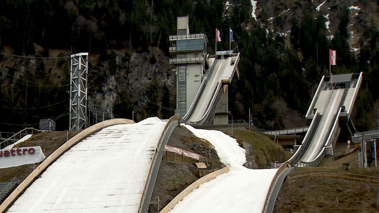 Skisprungschanzen in Oberstdorf