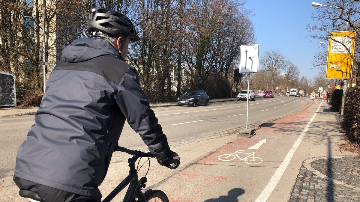 Hier werden breitere Radwege gewünscht.