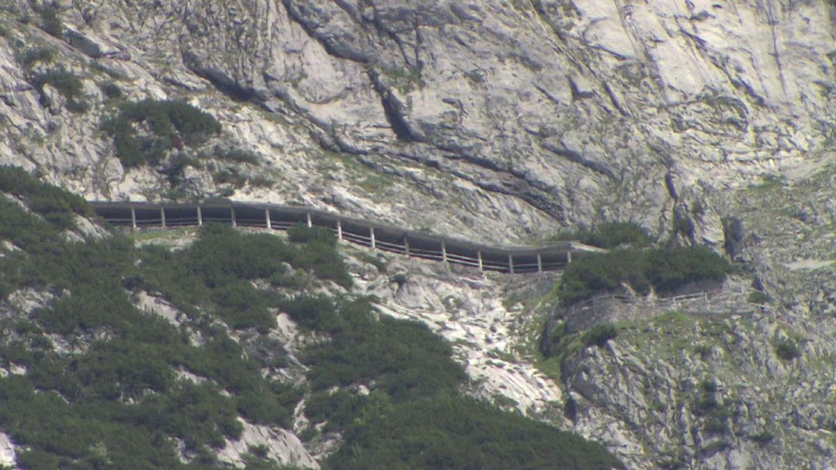 Eishöhle in der Nähe von Salzburg