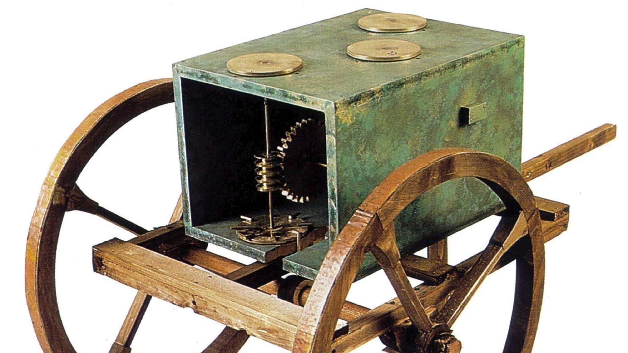 Antikes Hodometer aus Griechenland