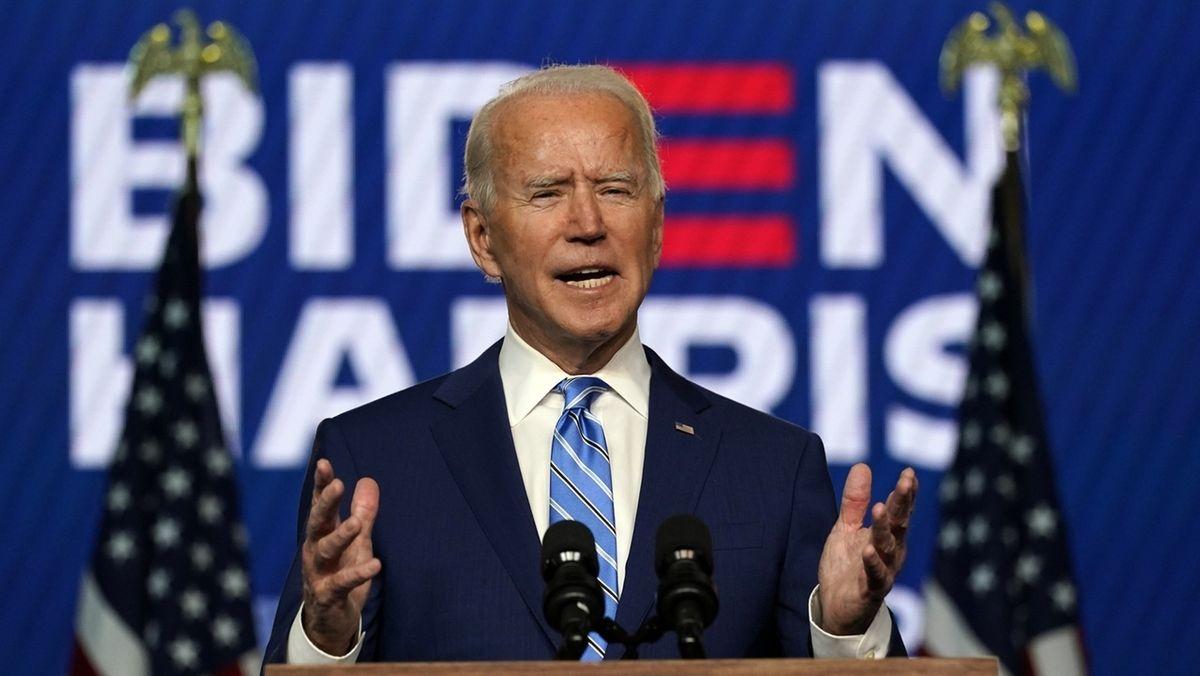 Präsidentschaftswahlen in den USA - Joe Biden.