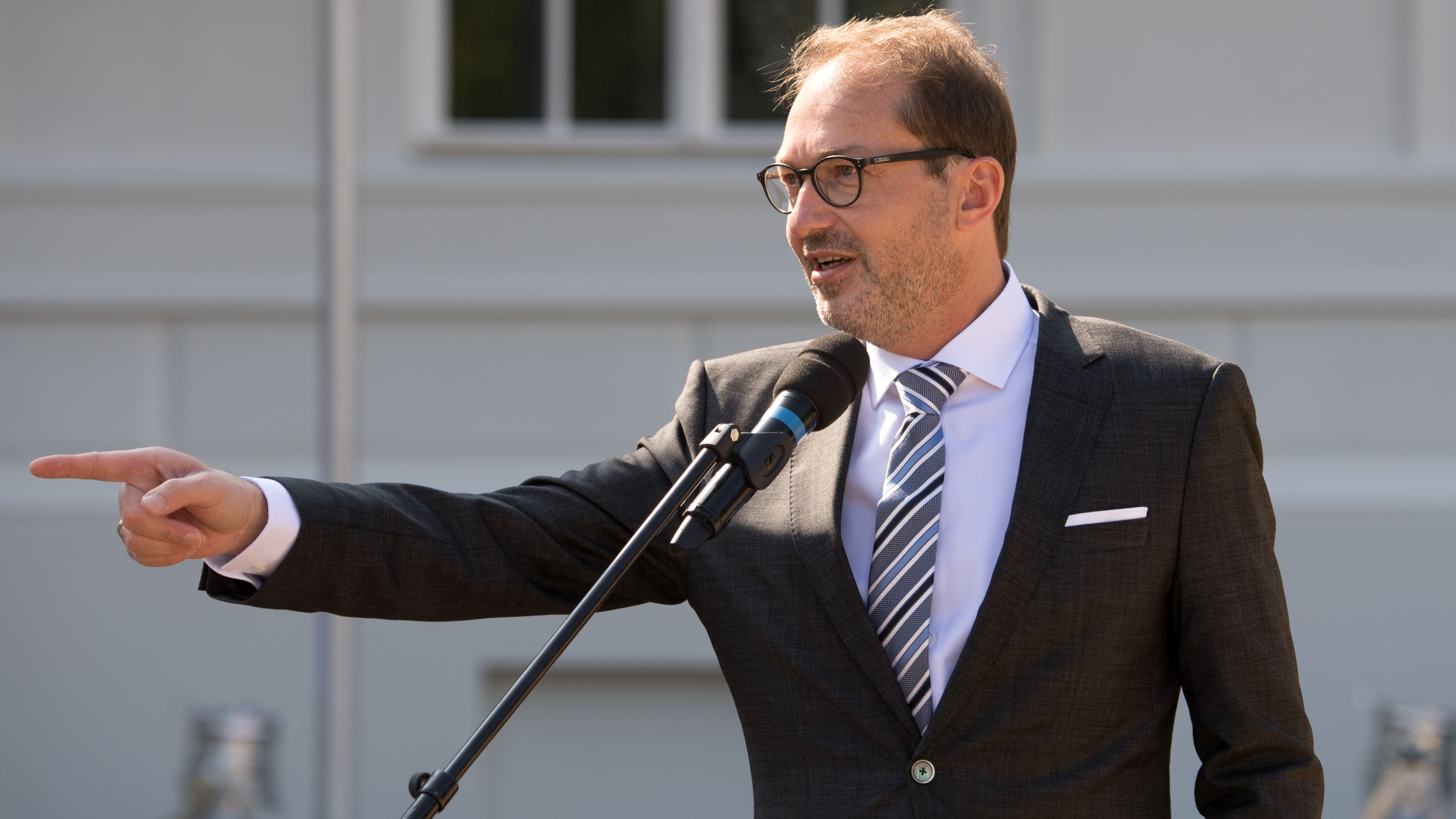 Alexander Dobrindt (CSU), Vorsitzender der CSU-Landesgruppe im Bundestag