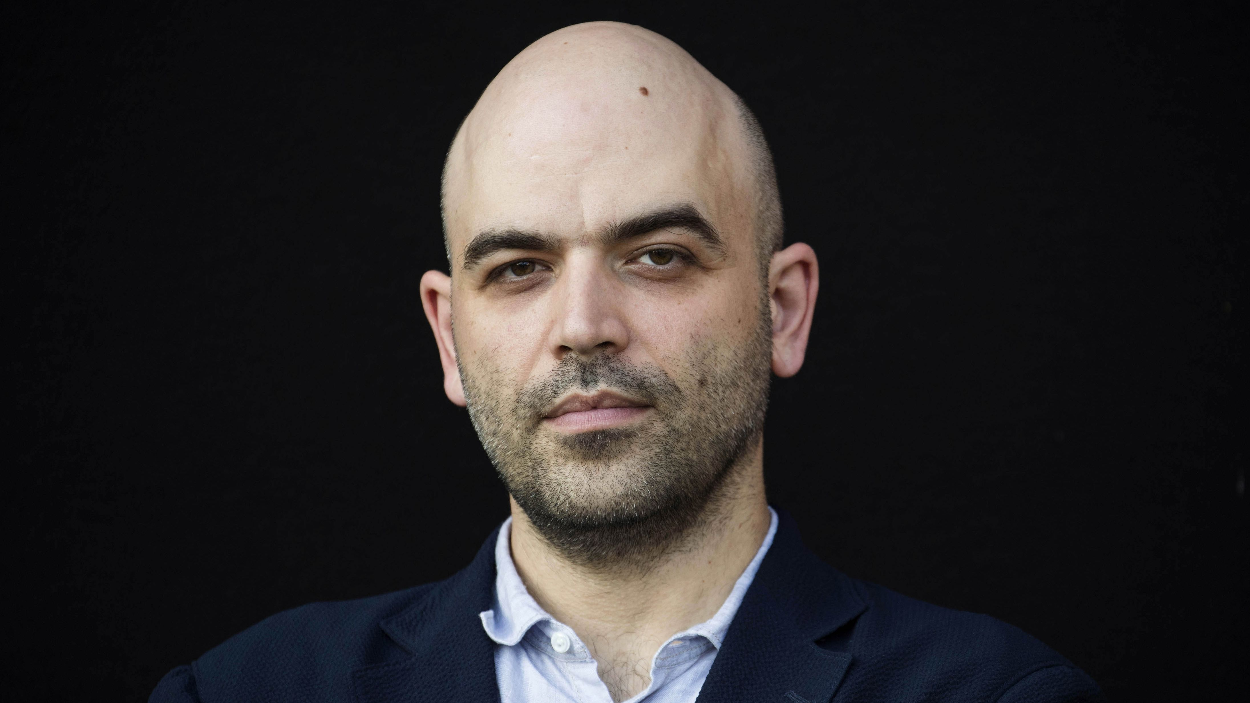 Autor Roberto Saviano im Porträt