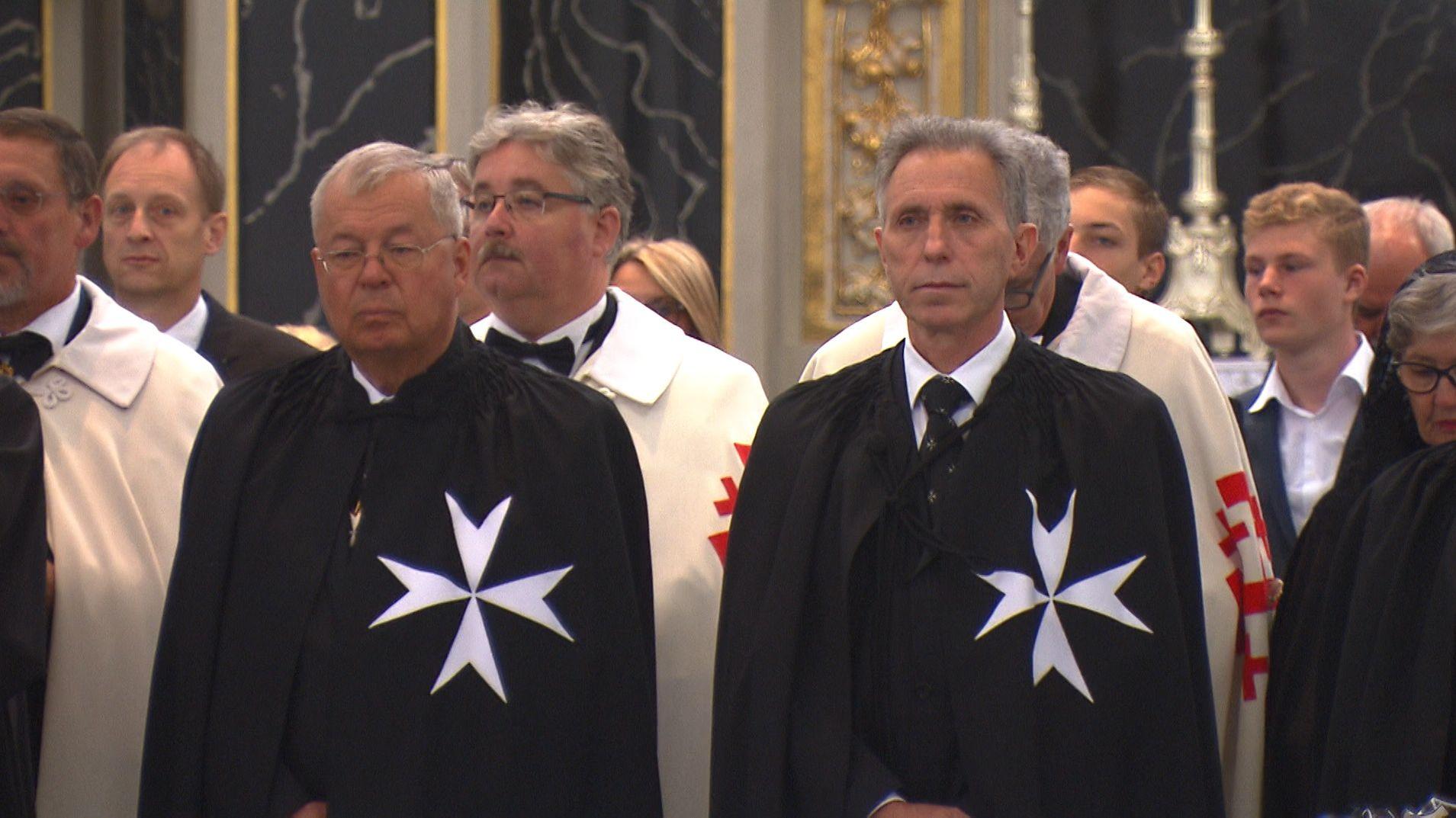 Der Deutsche Orden begeht in Würzburg seine Investiturfeier.