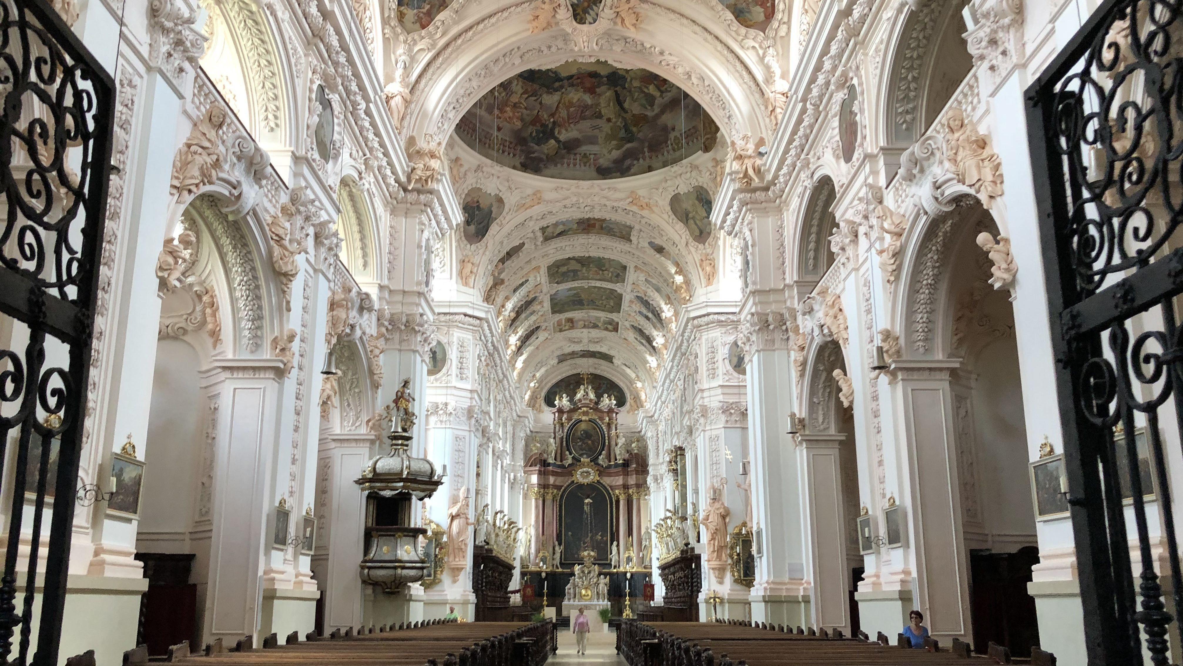 Stiftsbasilika Waldsassen in der Oberpfalz