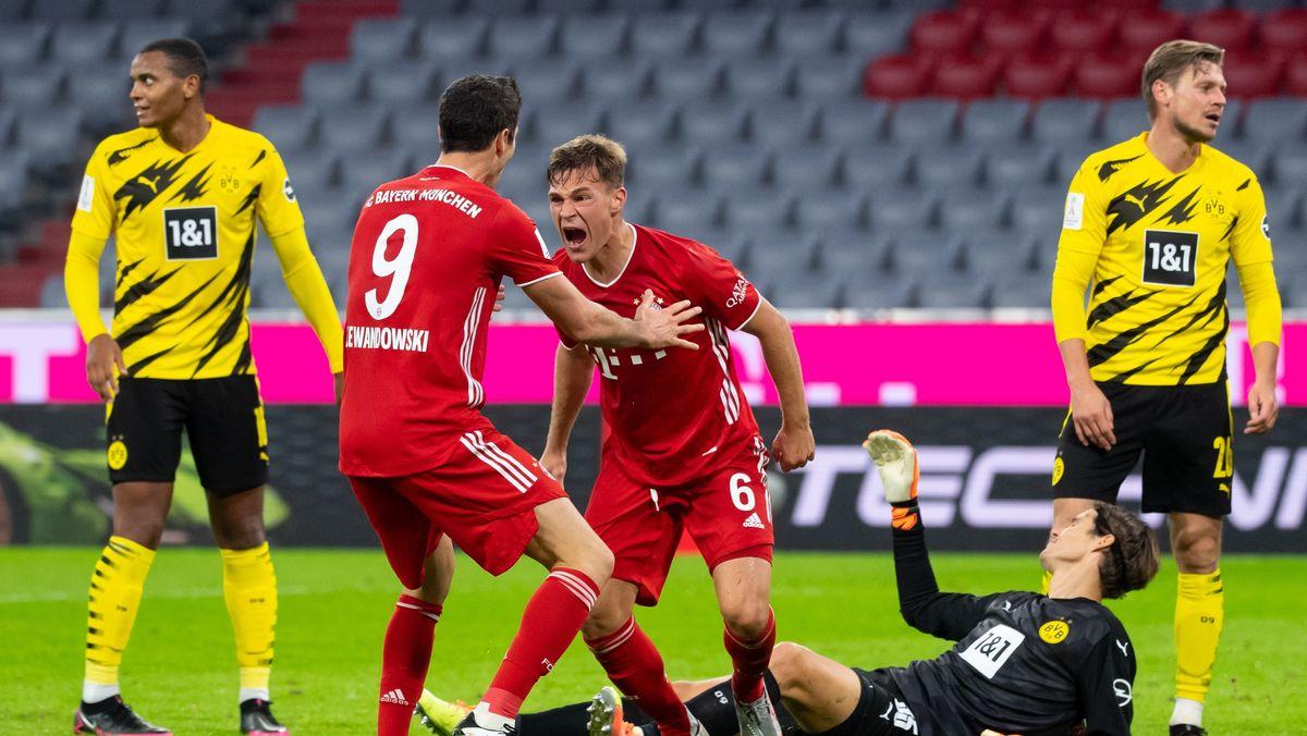 Spielszene Borussia Dortmund - FC Bayern München
