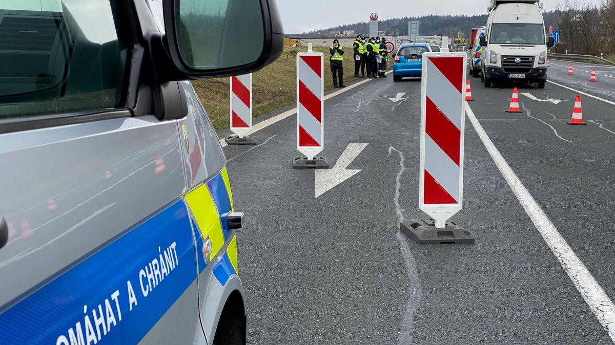 Grenzübergang nach Tschechien