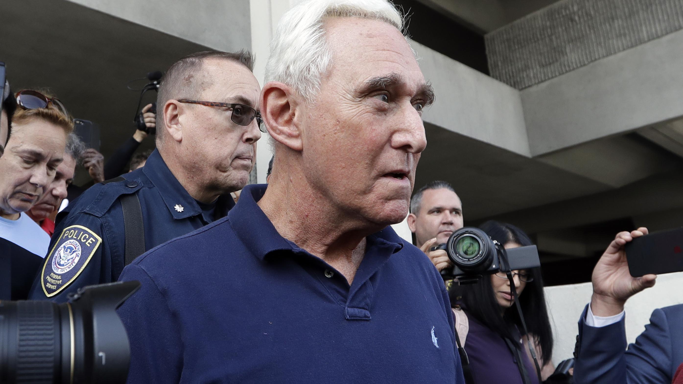 Trump-Vertrauter Stone kommt auf Kaution wieder frei