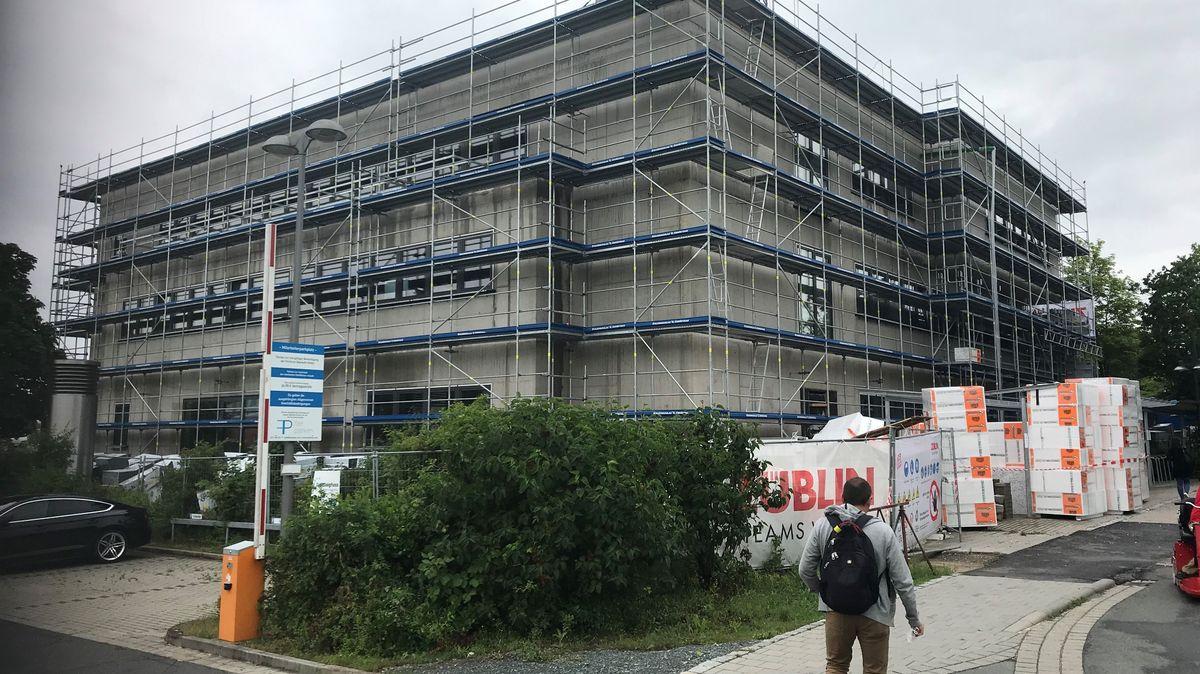 Auf dem Gelände des Bayreuther Klinikums entsteht der Medizincampus Oberfranken.